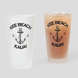 Kee Beach Kauai copy Drinking Glass