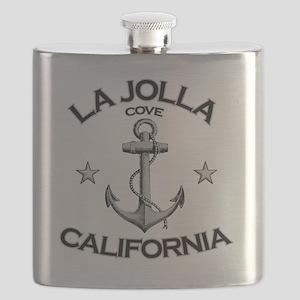 LA JOLLA COVE CALIFORNIA copy Flask