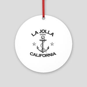 LA JOLLA COVE CALIFORNIA copy Round Ornament
