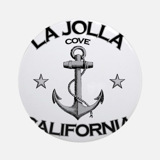 LA JOLLA COVE CALIFORNIA copy Round Ornament