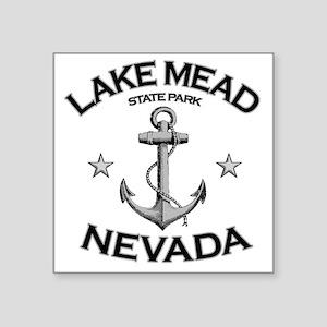 "LAKE MEAD STATE PARK NEVADA Square Sticker 3"" x 3"""