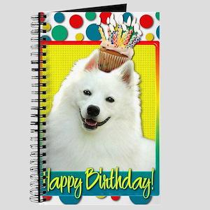BirthdayCupcakeAmericanEskimo Journal