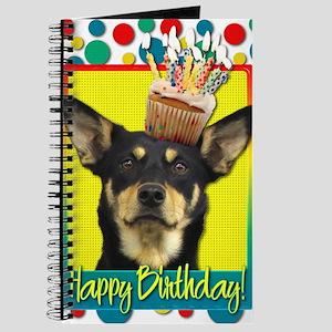 BirthdayCupcakeAustralianKelpieJude Journal
