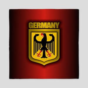 German Stl (round) Queen Duvet