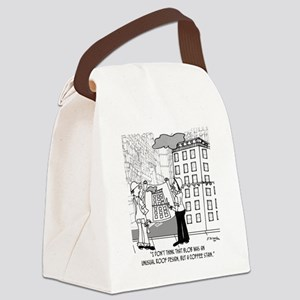 4384_blueprint_cartoon Canvas Lunch Bag