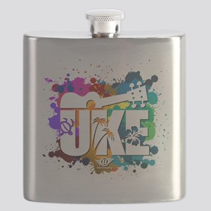 UKE Color Splash Flask