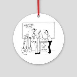 4835_money_cartoon Round Ornament