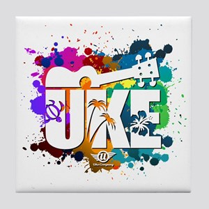 UKE Color Splash Tile Coaster