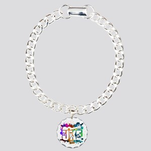 UKE Color Splash Charm Bracelet, One Charm