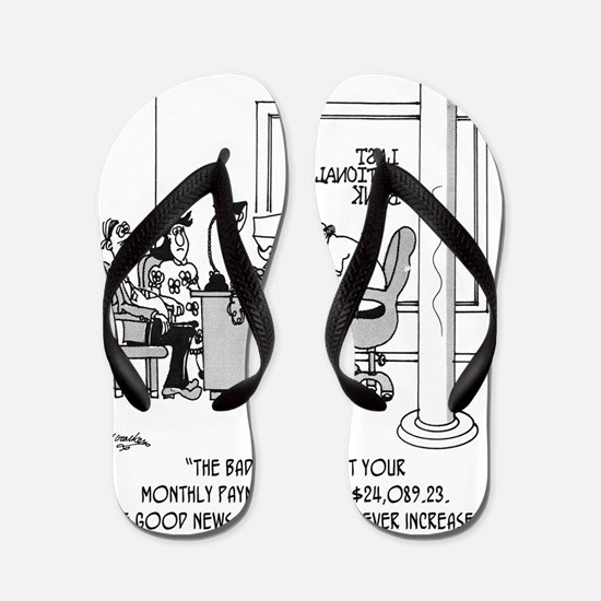 6120_mortgage_cartoon Flip Flops