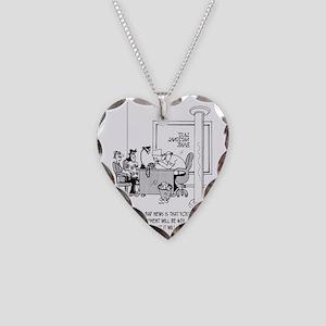 6120_mortgage_cartoon Necklace Heart Charm