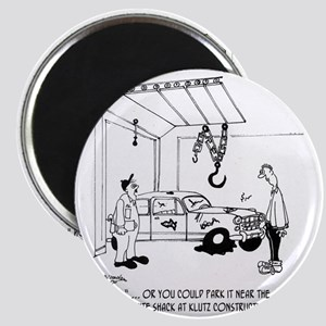 4357_auto_cartoon Magnet