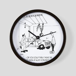 4357_auto_cartoon Wall Clock