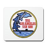 USS LOS ANGELES Mousepad
