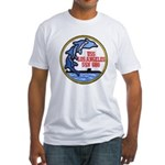 USS LOS ANGELES Fitted T-Shirt