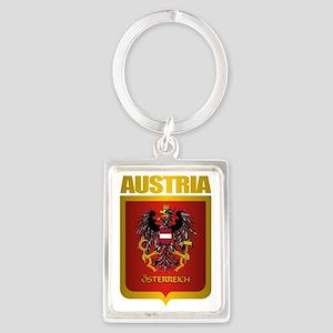 Austrian Steel (shirt) Portrait Keychain