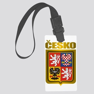 Czech Steel (shirt) Large Luggage Tag