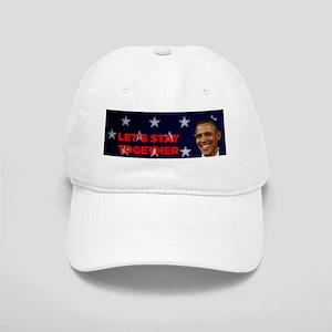 ART Obama 12 mug lets stay together Cap
