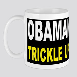 anti obama trickle up povertydbutton Mug