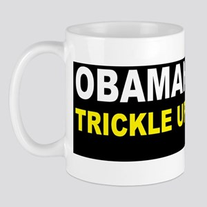 anti obama trickle up povertydbump Mug