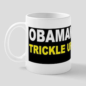 anti obama trickle up povertydbump Mug