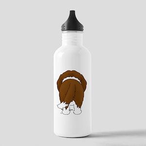 StBernardShirtBack Stainless Water Bottle 1.0L