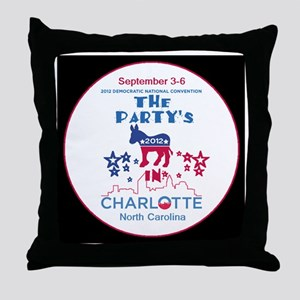 Democratic Convention Throw Pillow
