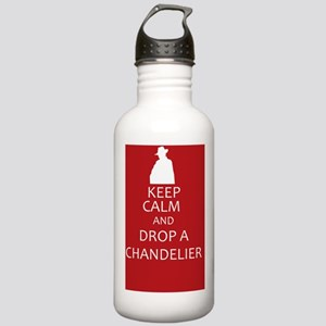 Keep Calm and Drop a C Stainless Water Bottle 1.0L