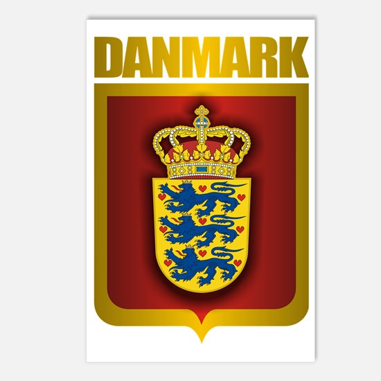 Denmark (Gold Label) Postcards (Package of 8)