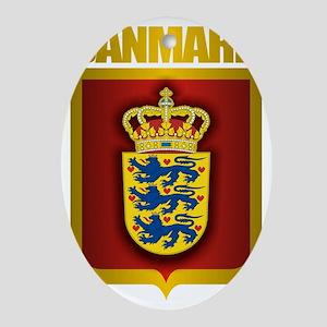 Denmark (Gold Label) Oval Ornament