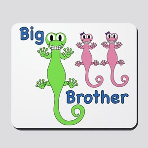 Big Brother of Twin Girls Mousepad
