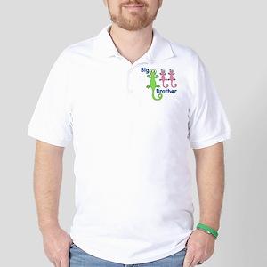 Big Brother of Twin Girls Golf Shirt