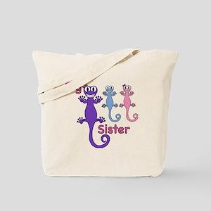 Big Sister of Boy/Girl Twins Tote Bag