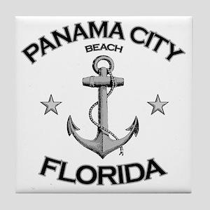 Panama City Beach copy Tile Coaster