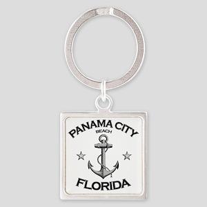 Panama City Beach copy Square Keychain