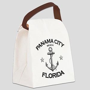 Panama City Beach copy Canvas Lunch Bag