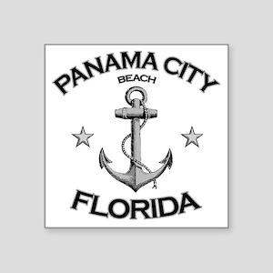 "Panama City Beach copy Square Sticker 3"" x 3"""