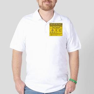 cp_warning_multi Golf Shirt