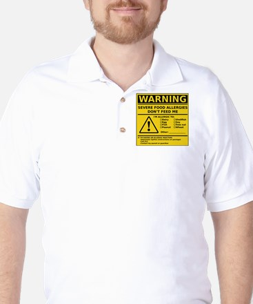 cp_warning_multi Golf Shirt