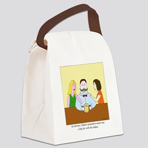 Pistachio-Stash Canvas Lunch Bag