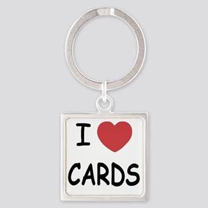 CARDS Square Keychain