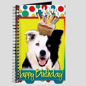 BirthdayCupcakeBorderCollie Journal