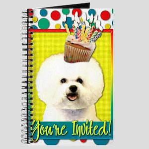 InviteCupcakeBichonFrise Journal