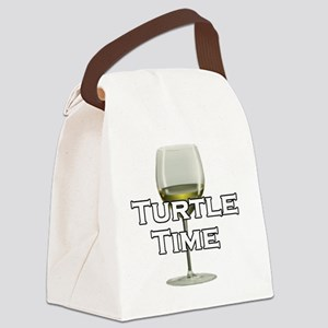 turtletime Canvas Lunch Bag