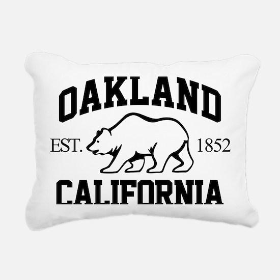 oak01 Rectangular Canvas Pillow