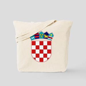 Croatia Hrvatska Emblem Tote Bag