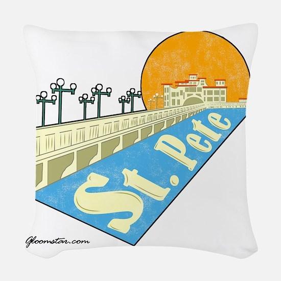 GSStPete01Large Woven Throw Pillow