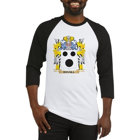 Bassill Coat of Arms - Family Cres Baseball Jersey