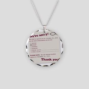 jesusfish Necklace Circle Charm