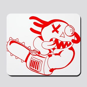Agnew-chainsaw RED Mousepad